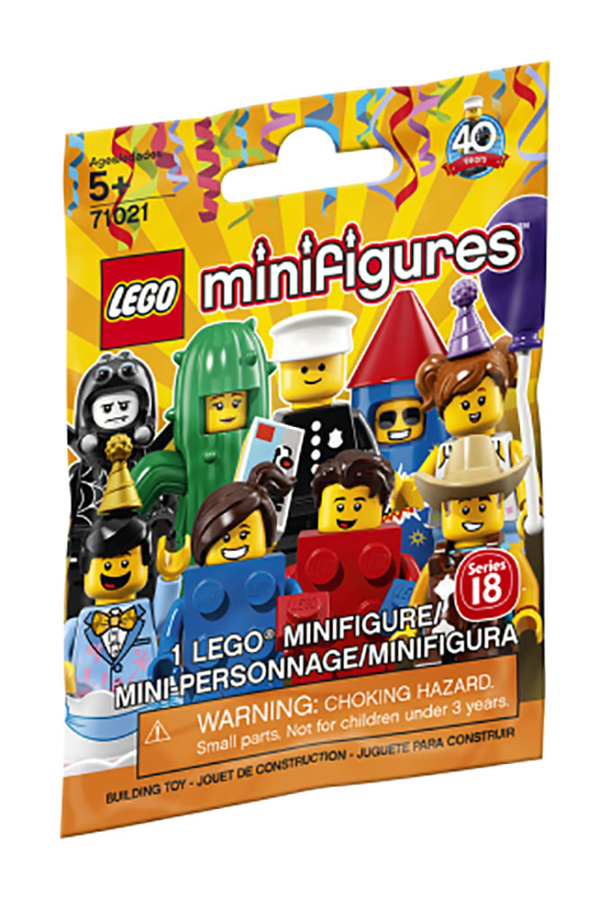 lego minifigures s rie 18 la f te club jouet achat de jeux et jouets prix club. Black Bedroom Furniture Sets. Home Design Ideas