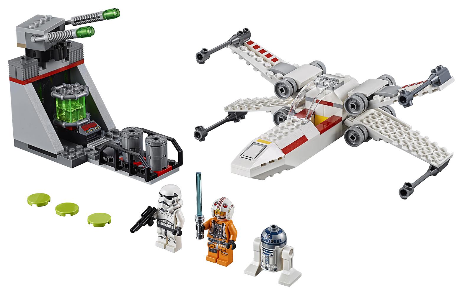 Star Wars - La Course-Poursuite du Chasseur X-Wing dans la Tranchée