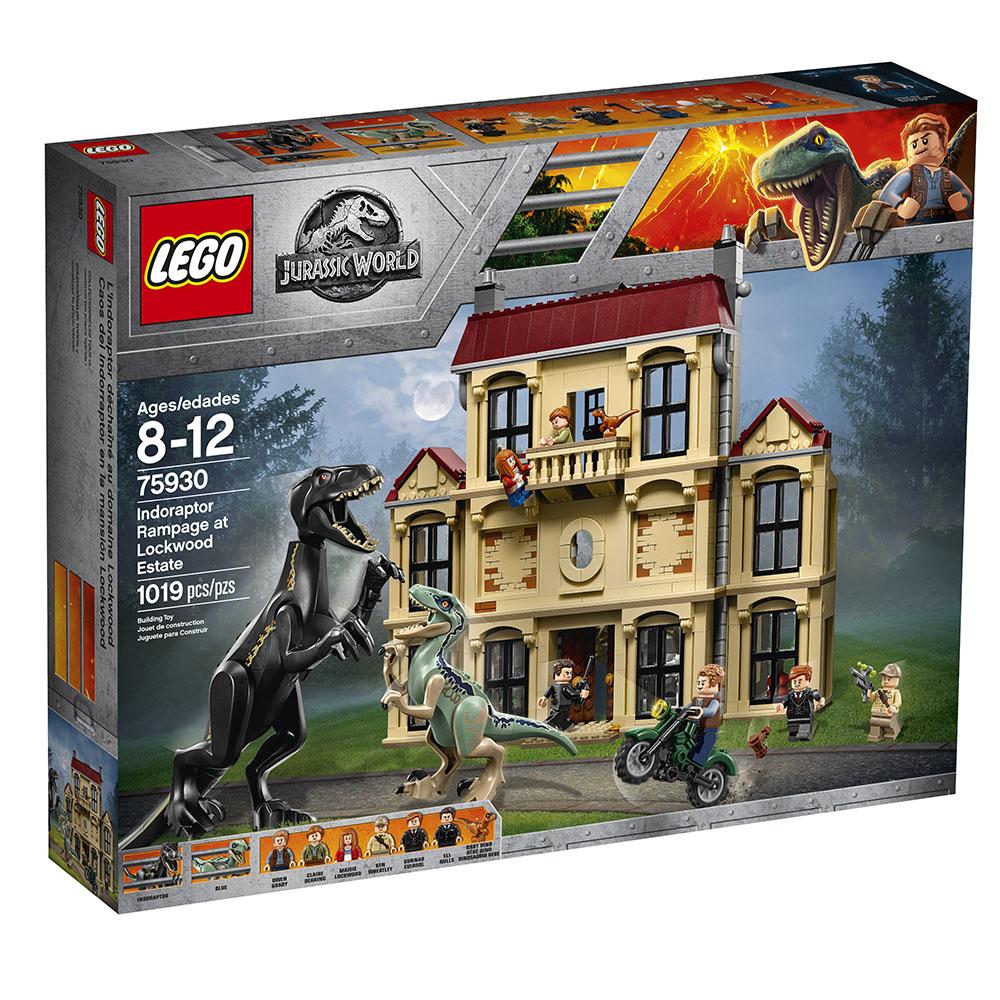 Jurassic World Lockwood Au Domaine L'indoraptor shtoQrdCxB