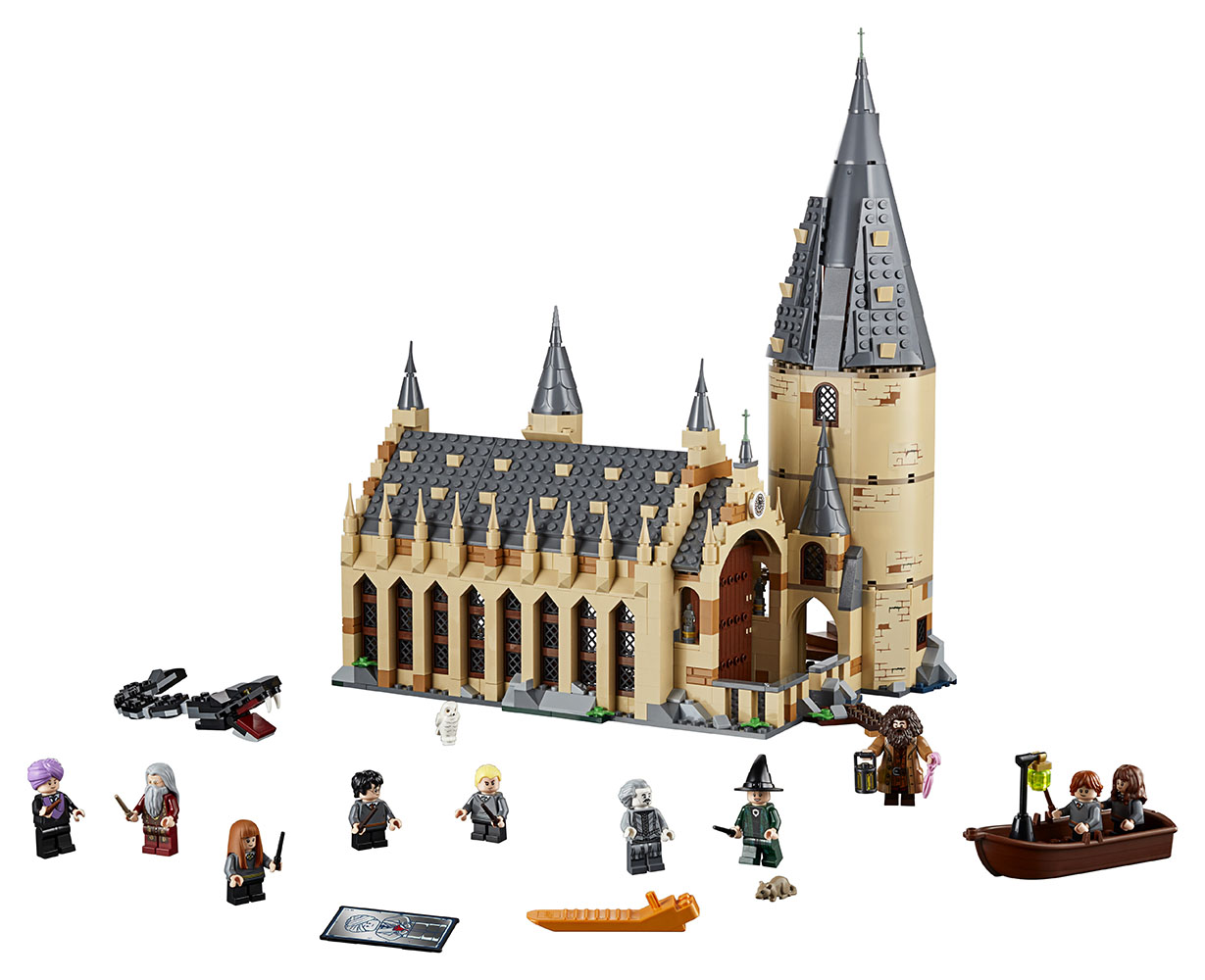 Harry Potter - La Grande Salle du Château de Poudlard™