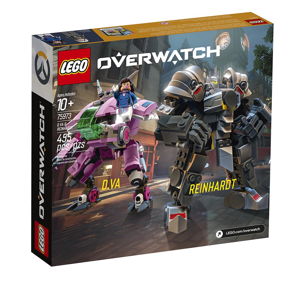 Overwatch - D.Va & Reinhardt