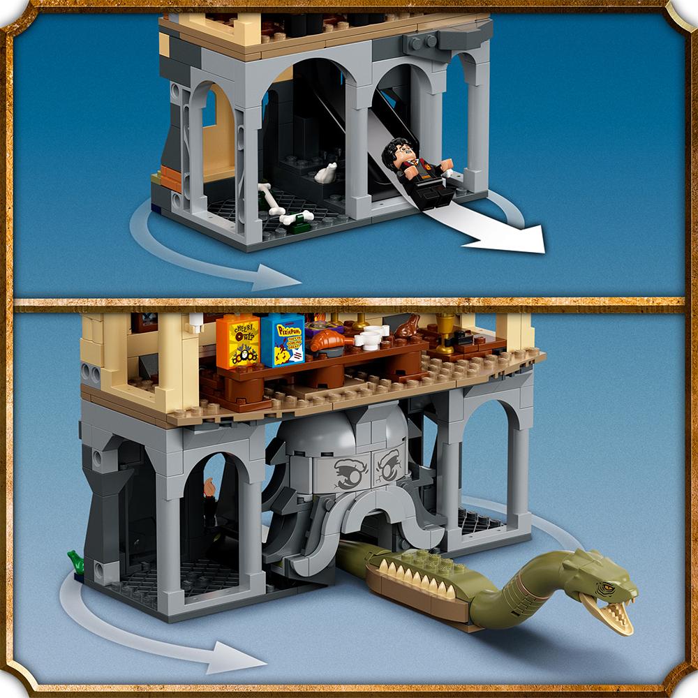 Harry Potter - La chambre des secrets de Poudlard