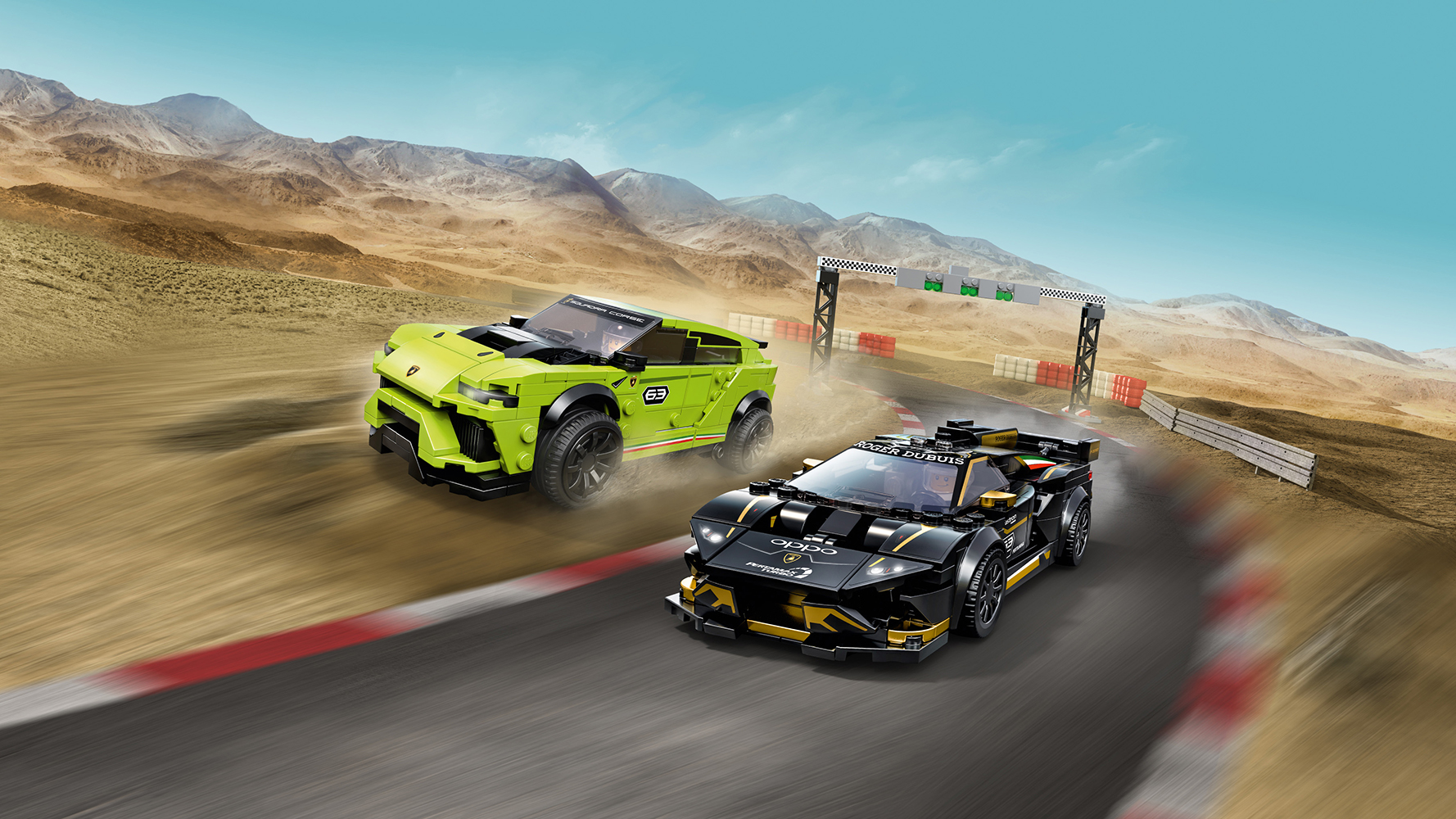 Speed Champions - La course des Lamborghini