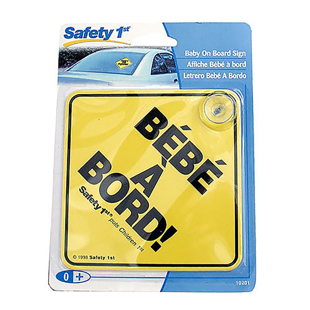 Safety 1st Signe bébé à bord français