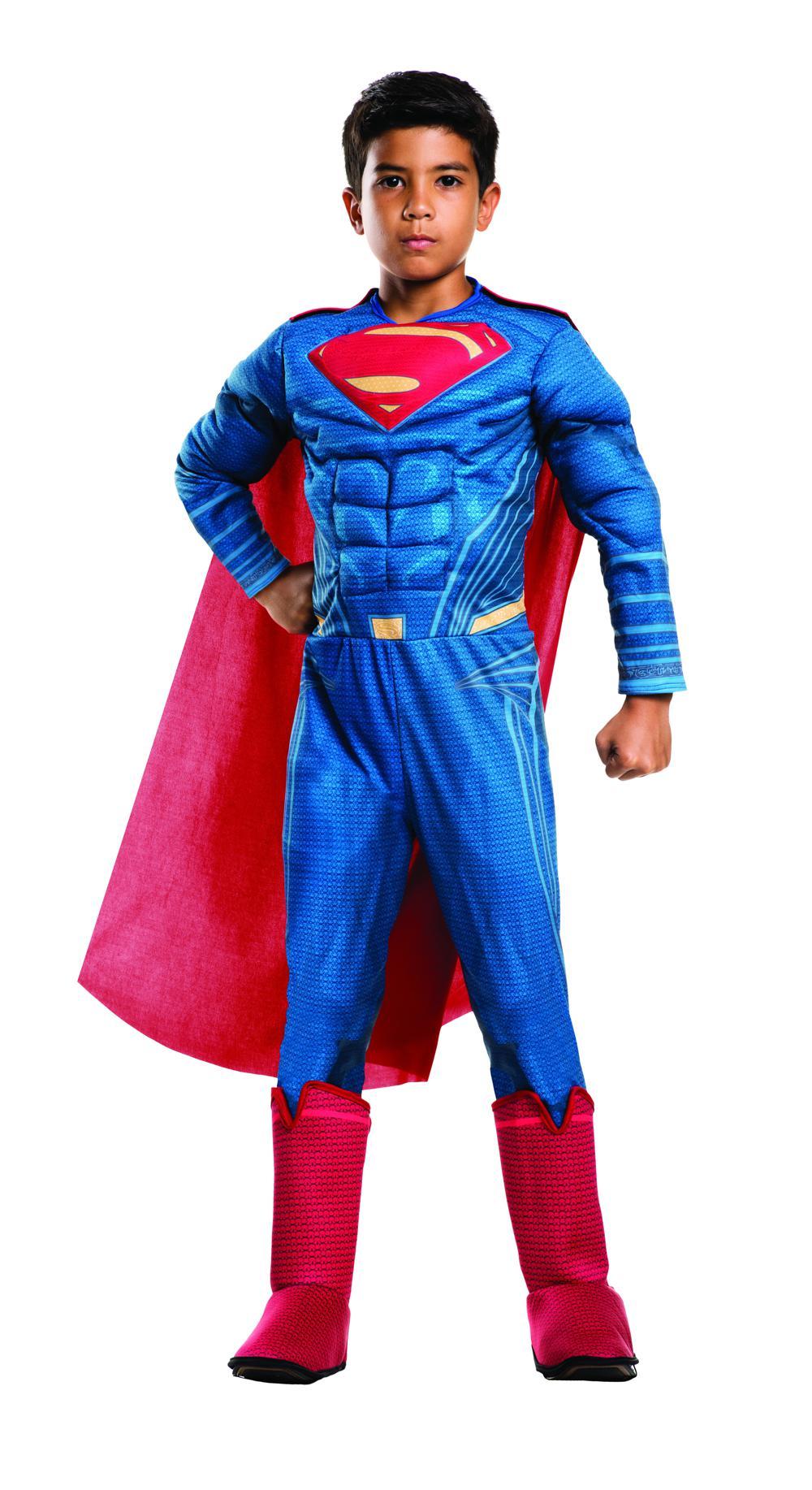 Costume enfant Superman avec muscles moyen