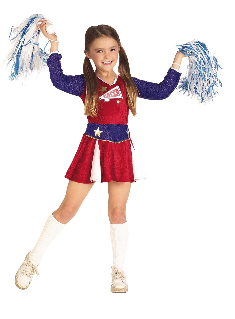 Costume enfant Cheerleader large