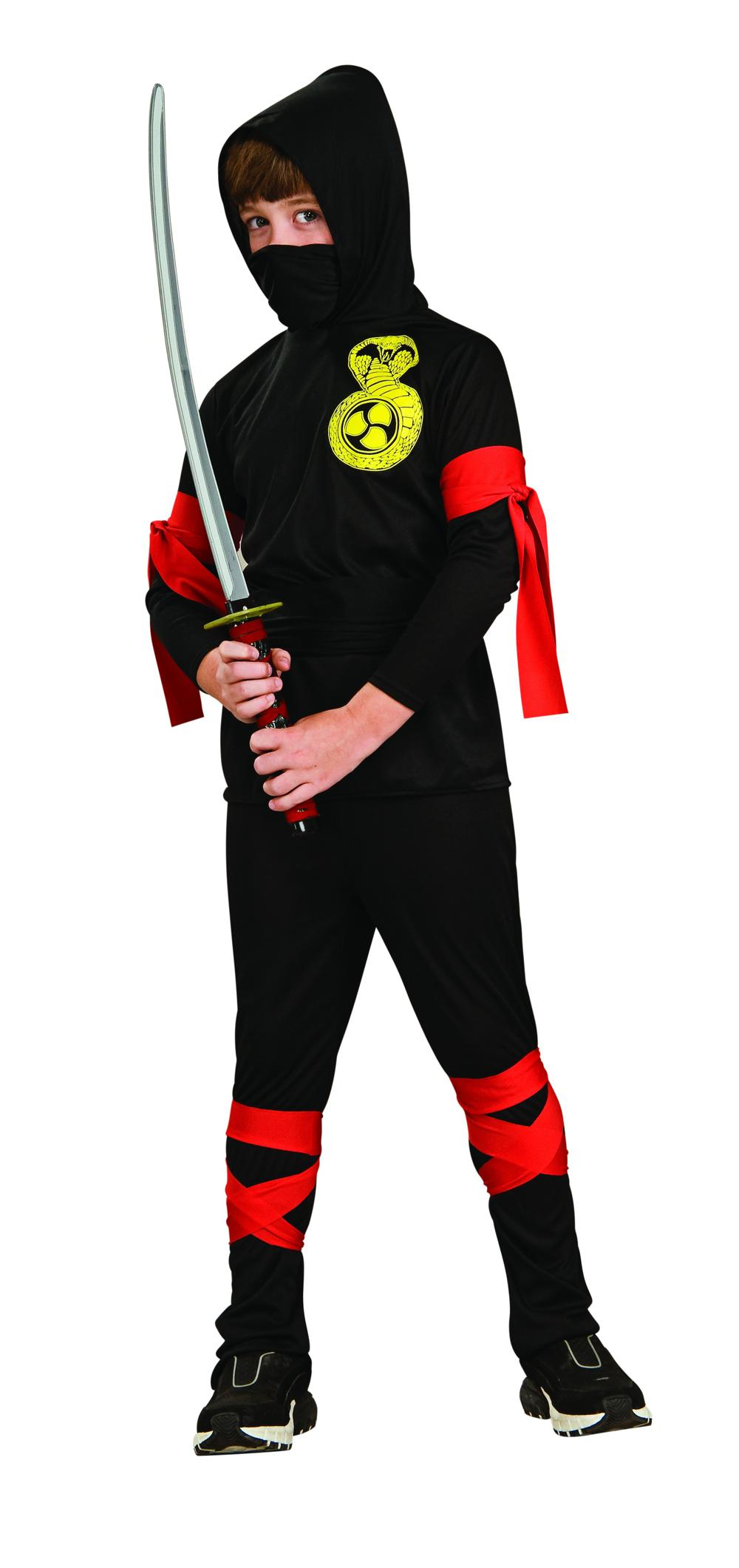 Costume Enfant Ninja noir grand