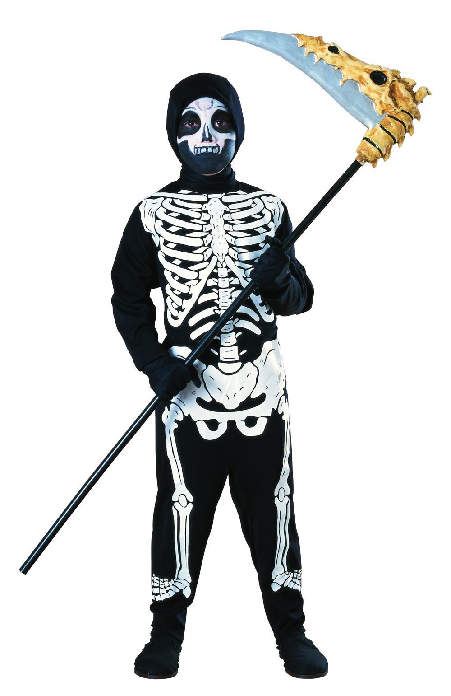 Costume Enfant Squelette moyen