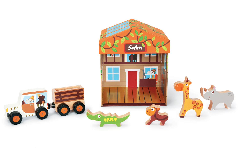 Boîte à jouets Safari