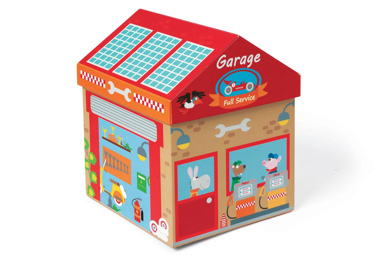 Boîte à jouets Garage