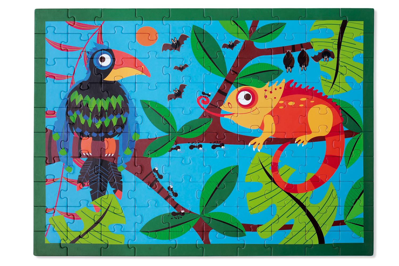 Casse-tête Toucan dans la Jungle 100 pièces