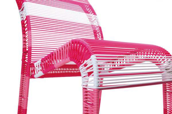 Scratch Chaise rose