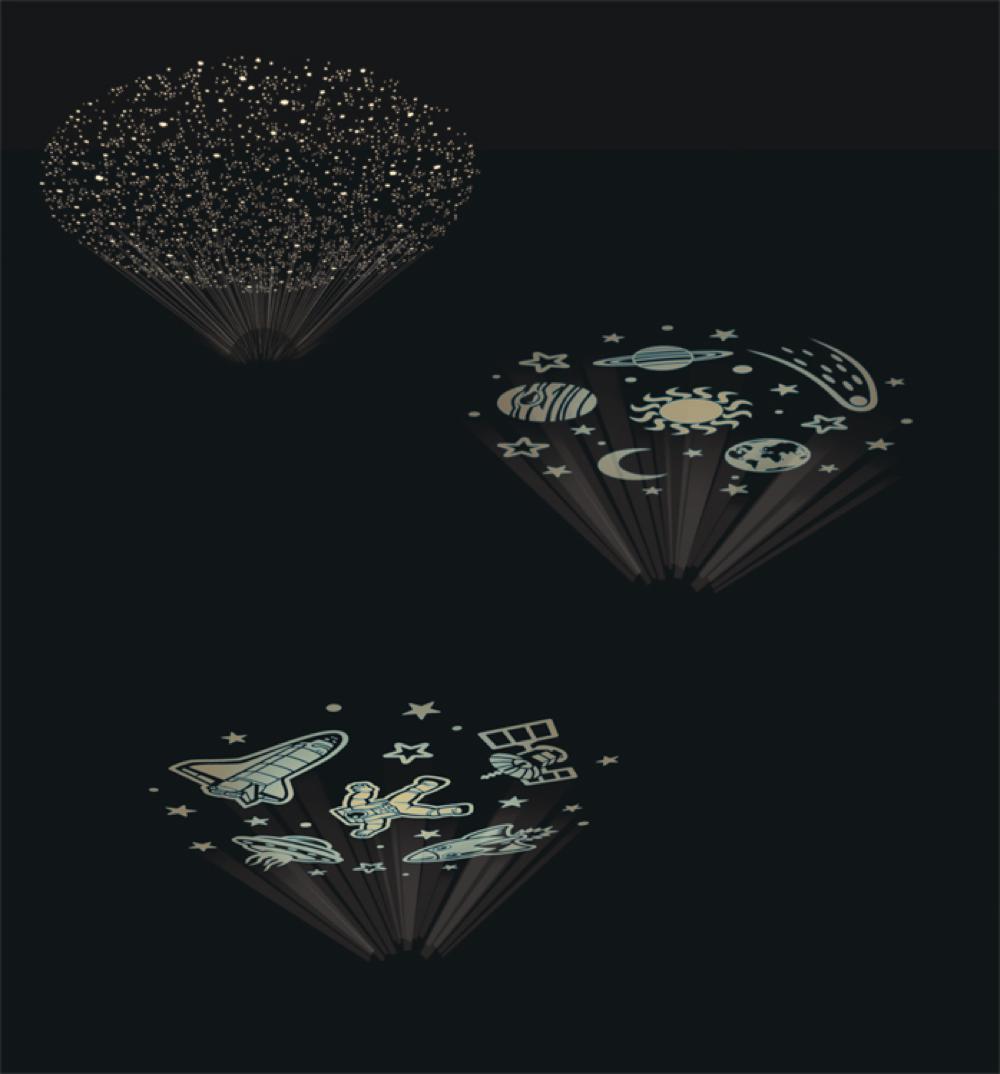 Projecteur de l'espace