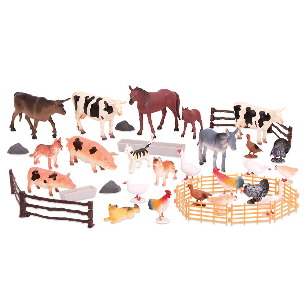 Terra - Les animaux de la ferme en seau