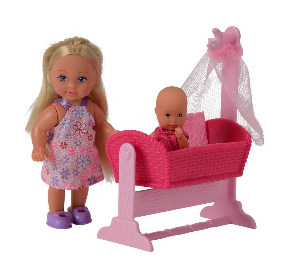 Evi Love Berceau et bébé modèles assortis