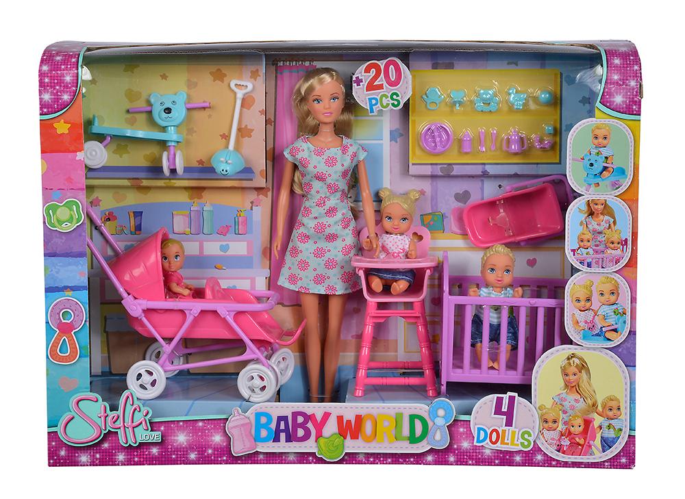 steffi love pouponni re club jouet achat de jeux et jouets prix club. Black Bedroom Furniture Sets. Home Design Ideas