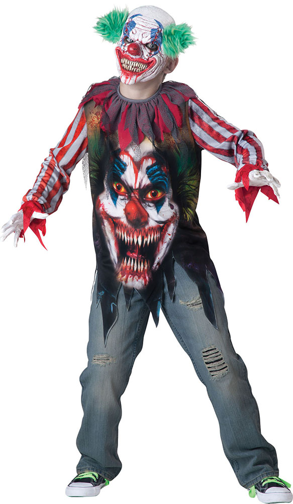 Costume Clown terrifiant 10 ans