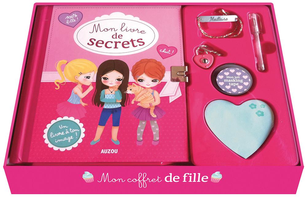 Livre - Mon coffret de fille, Mon livre de secrets