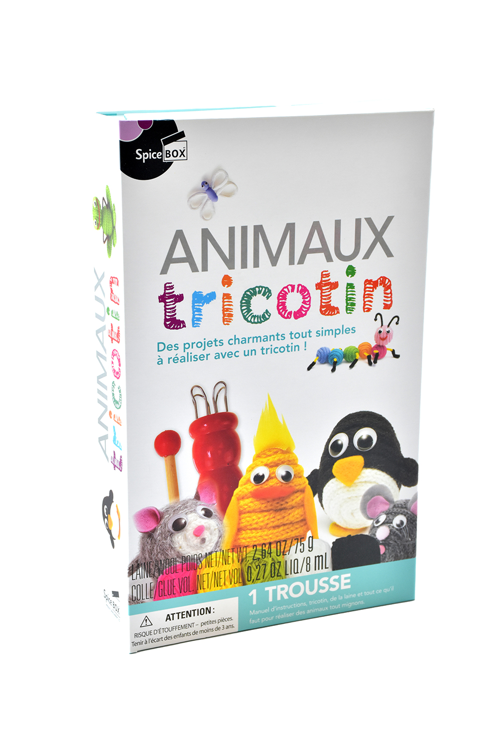 Spice Box - Animaux Tricotin