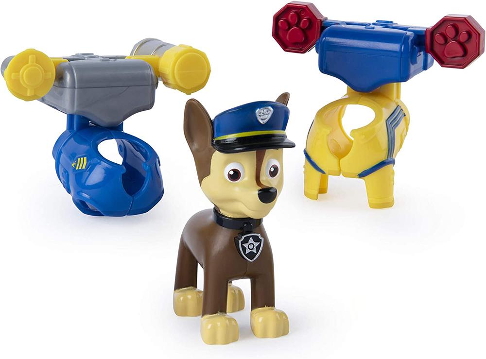 Pat'Patrouille - Figurine et badge 5 modèles assortis