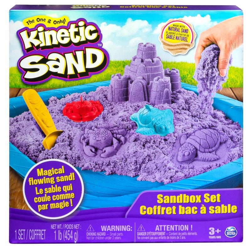 Kinetic Sand - Coffret bac à sable assortis