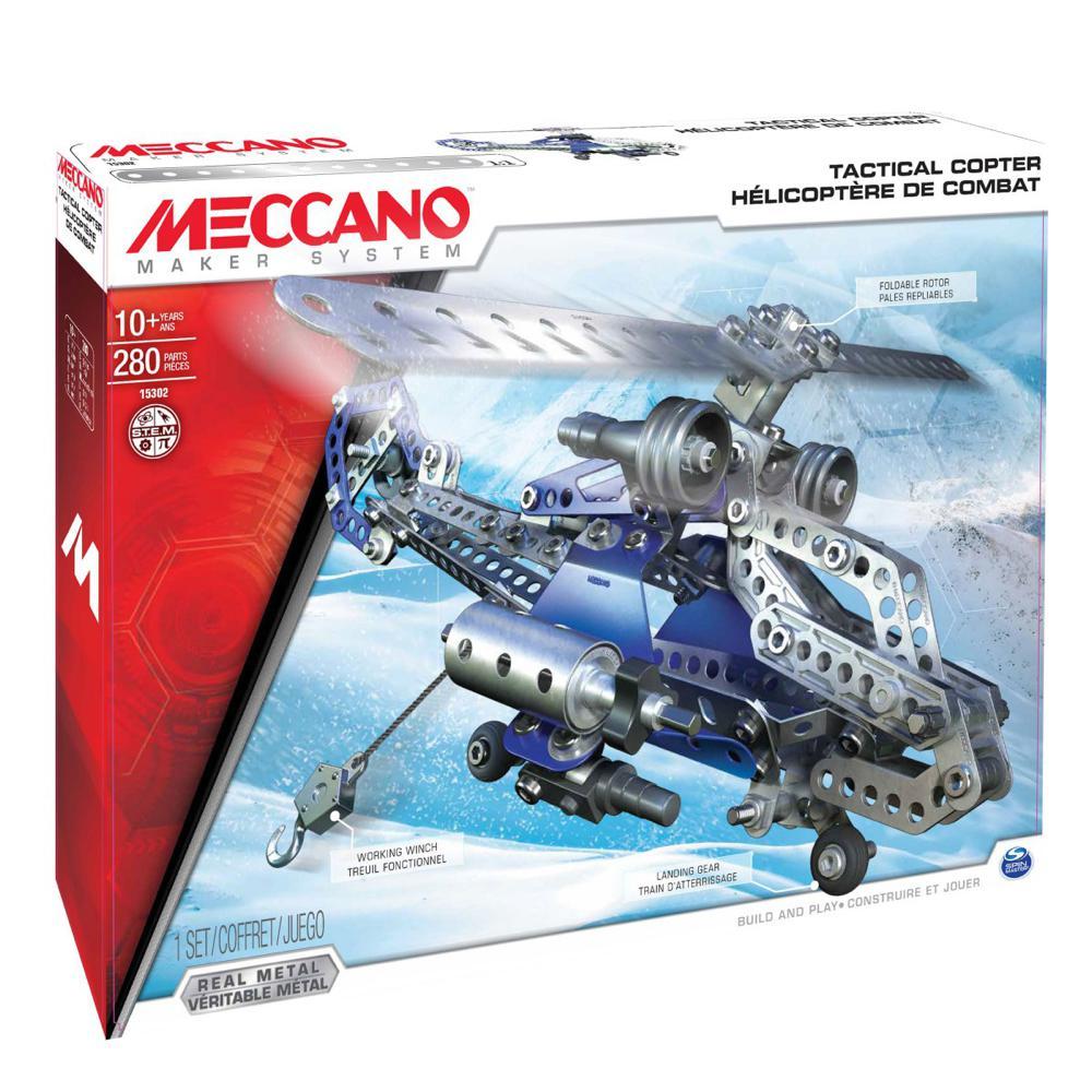 Meccano - Hélicoptère de combat