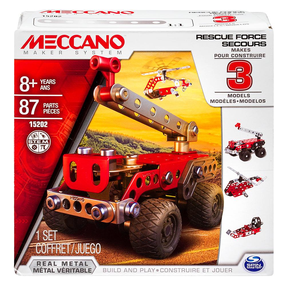 Meccano Ensemble 3 modèles