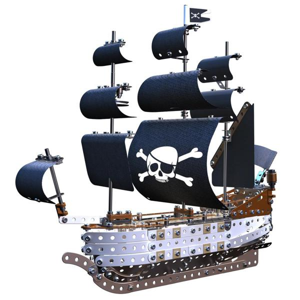 meccano elite bateau de pirate club jouet achat de jeux. Black Bedroom Furniture Sets. Home Design Ideas