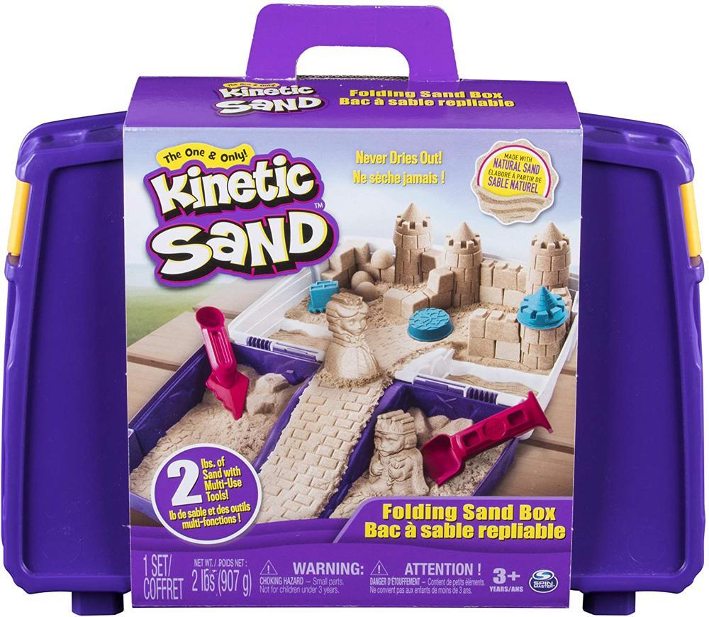 Kinetic Sand-Bac à sable repliable