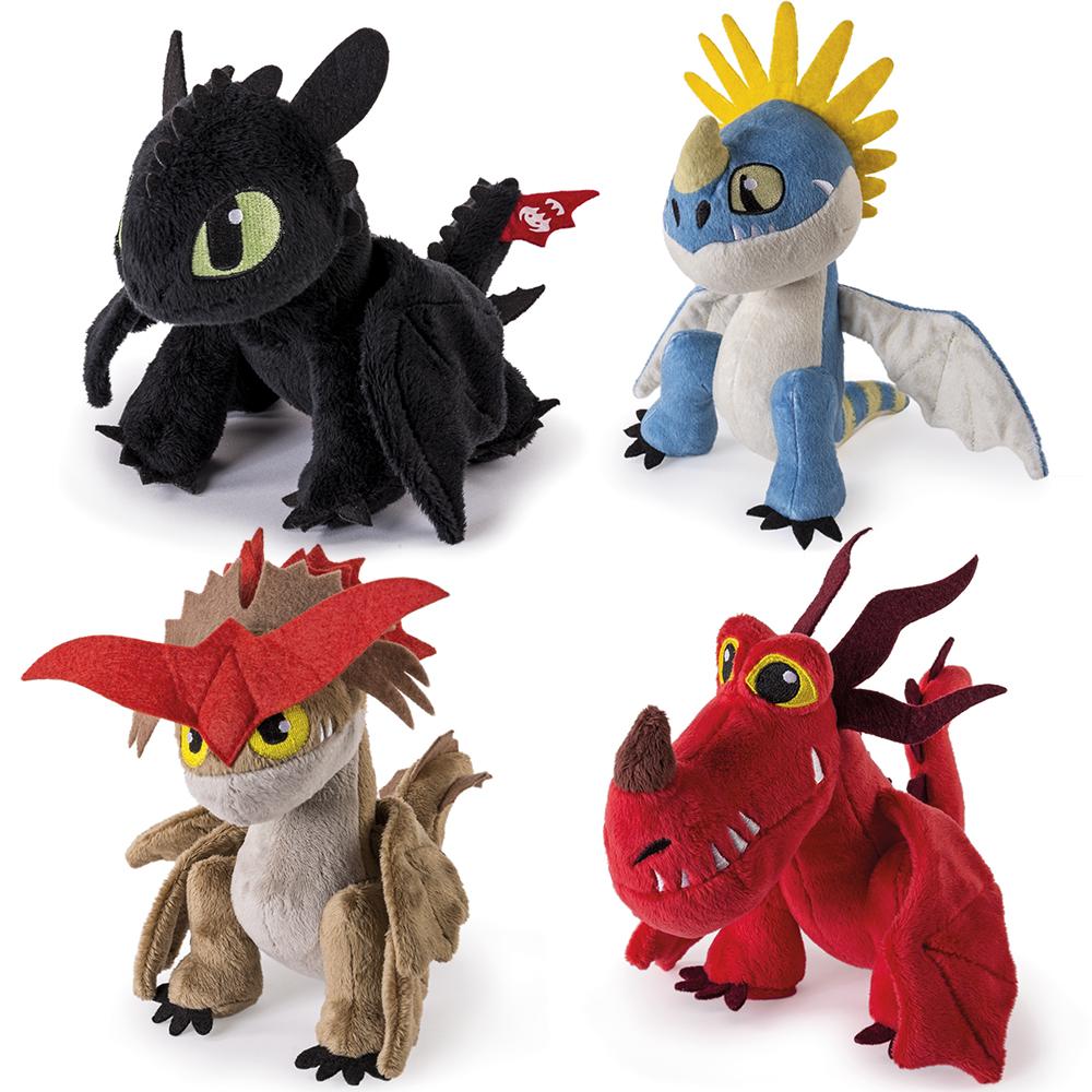 Dragons - Peluche 20 cm assorties