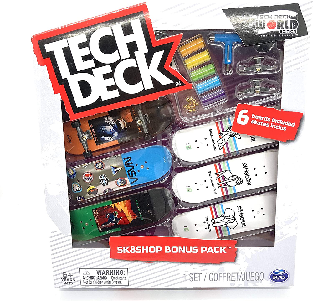 Tech Deck Ensemble bonus