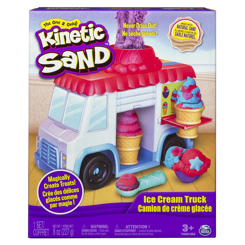 Kinetic Sand - Camion de crème glacée