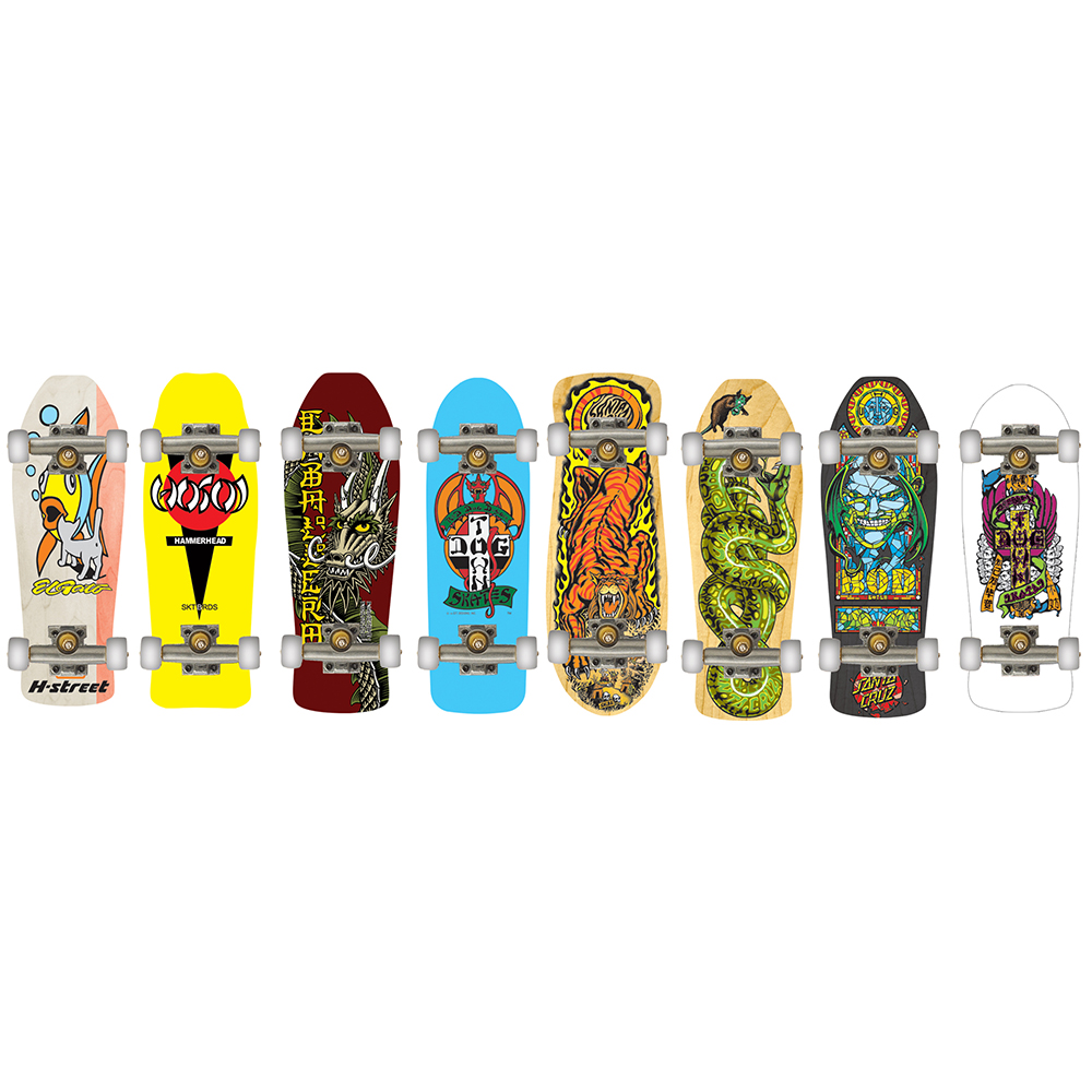 Tech deck planche à collectioner Retro asst