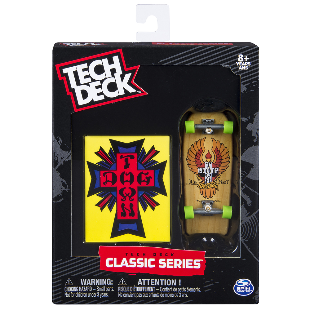 Tech deck planche à collectioner Retro asst