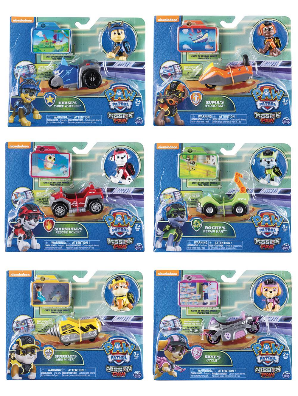 Pat'Patrouille - Mini véhicules et figurines assortis