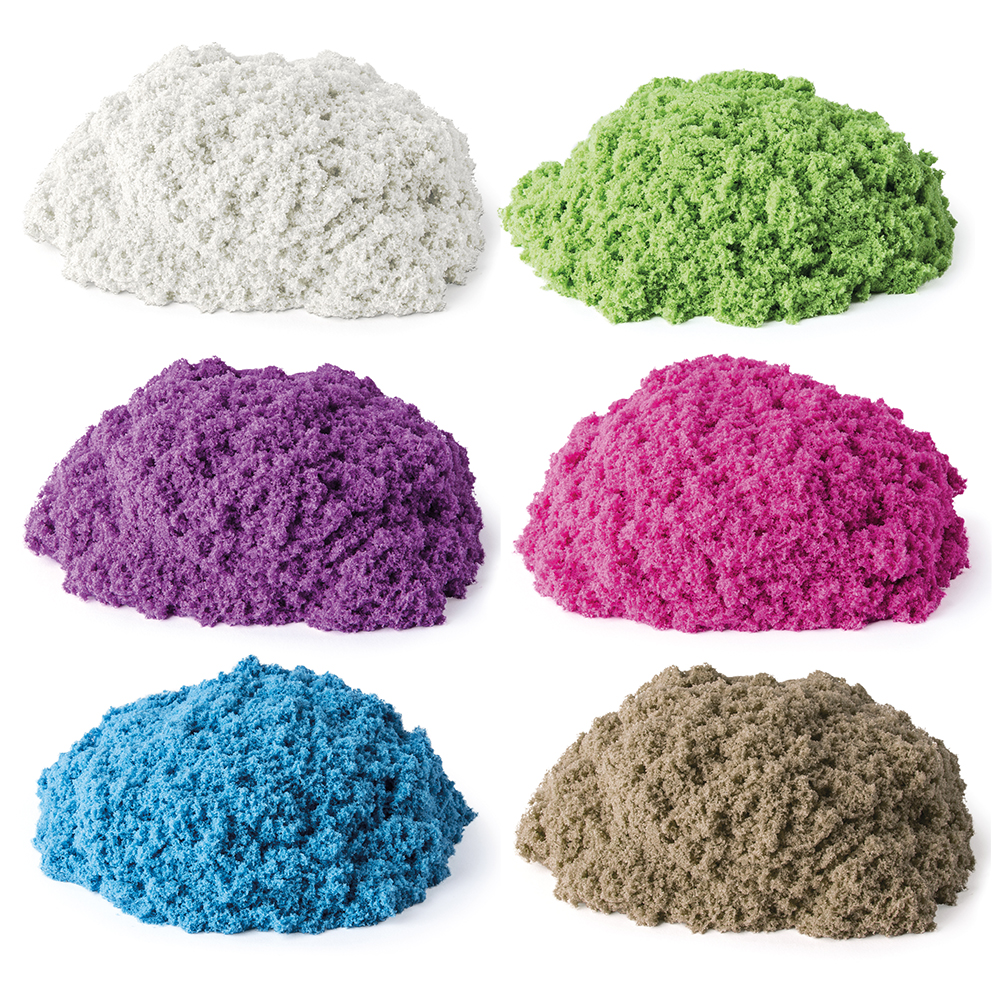 Kinetic Sand - Contenant simple assortis