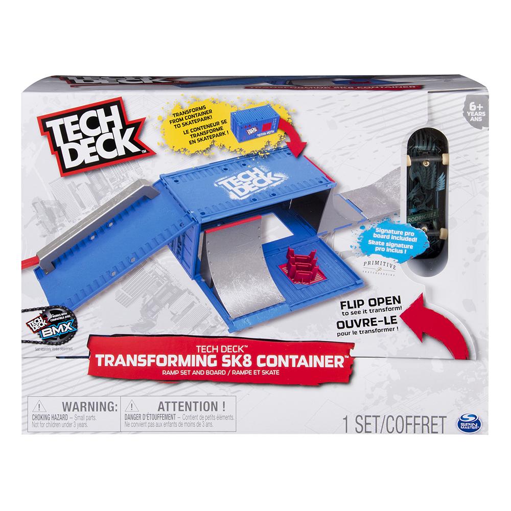 Tech Deck - Conteneur Transformable