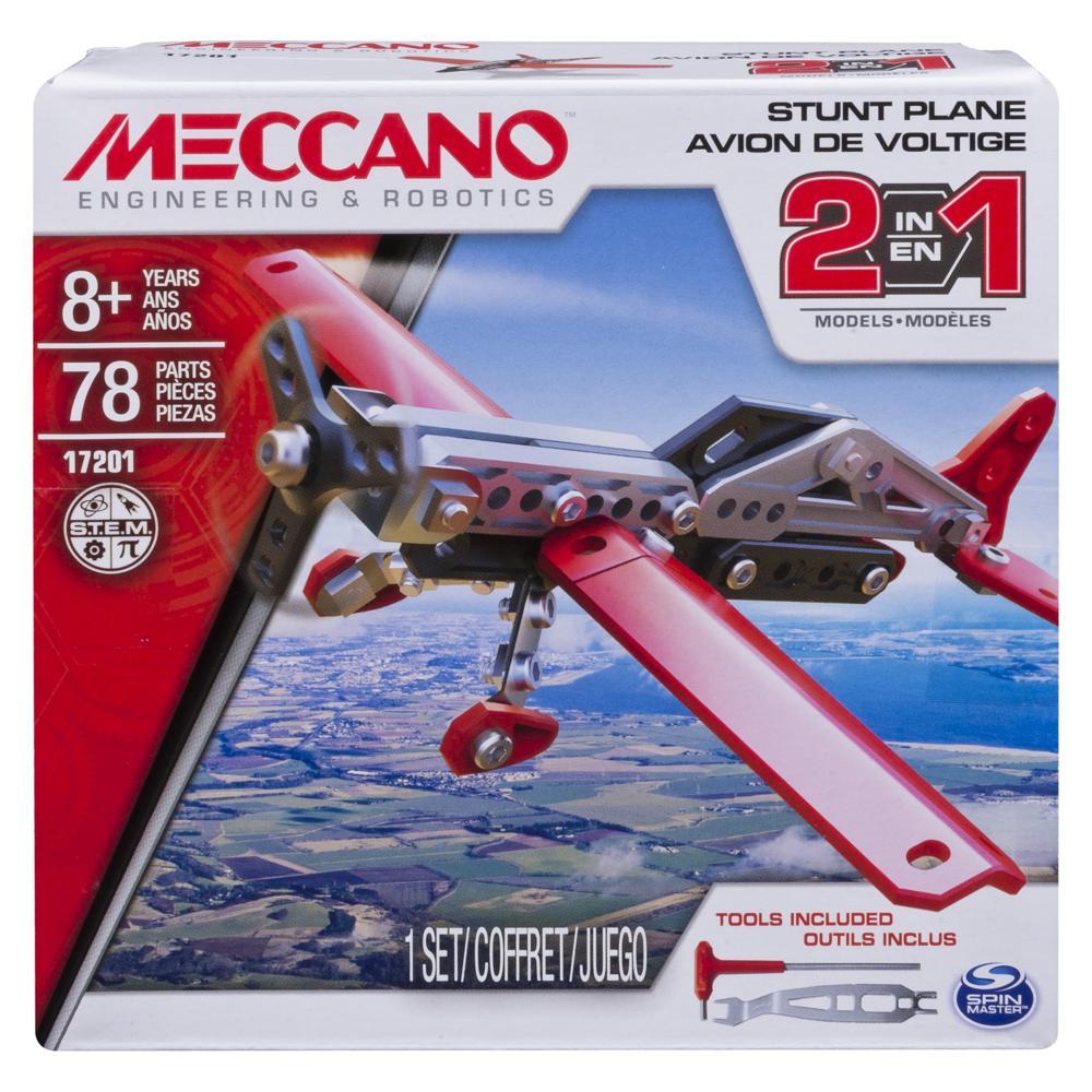 Meccano - Ensemble 2 modèles - Avion