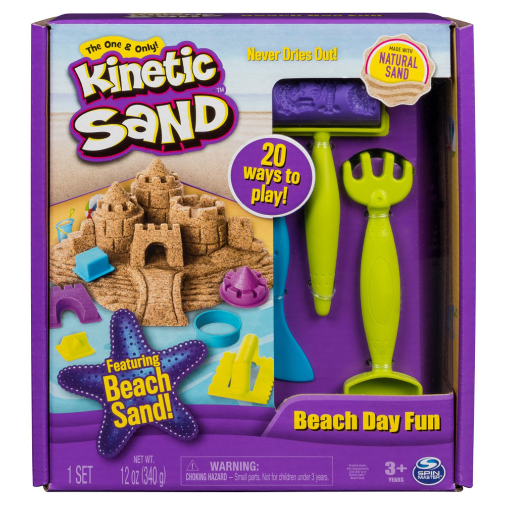 Kinetic Sand Ensemble pour la plage