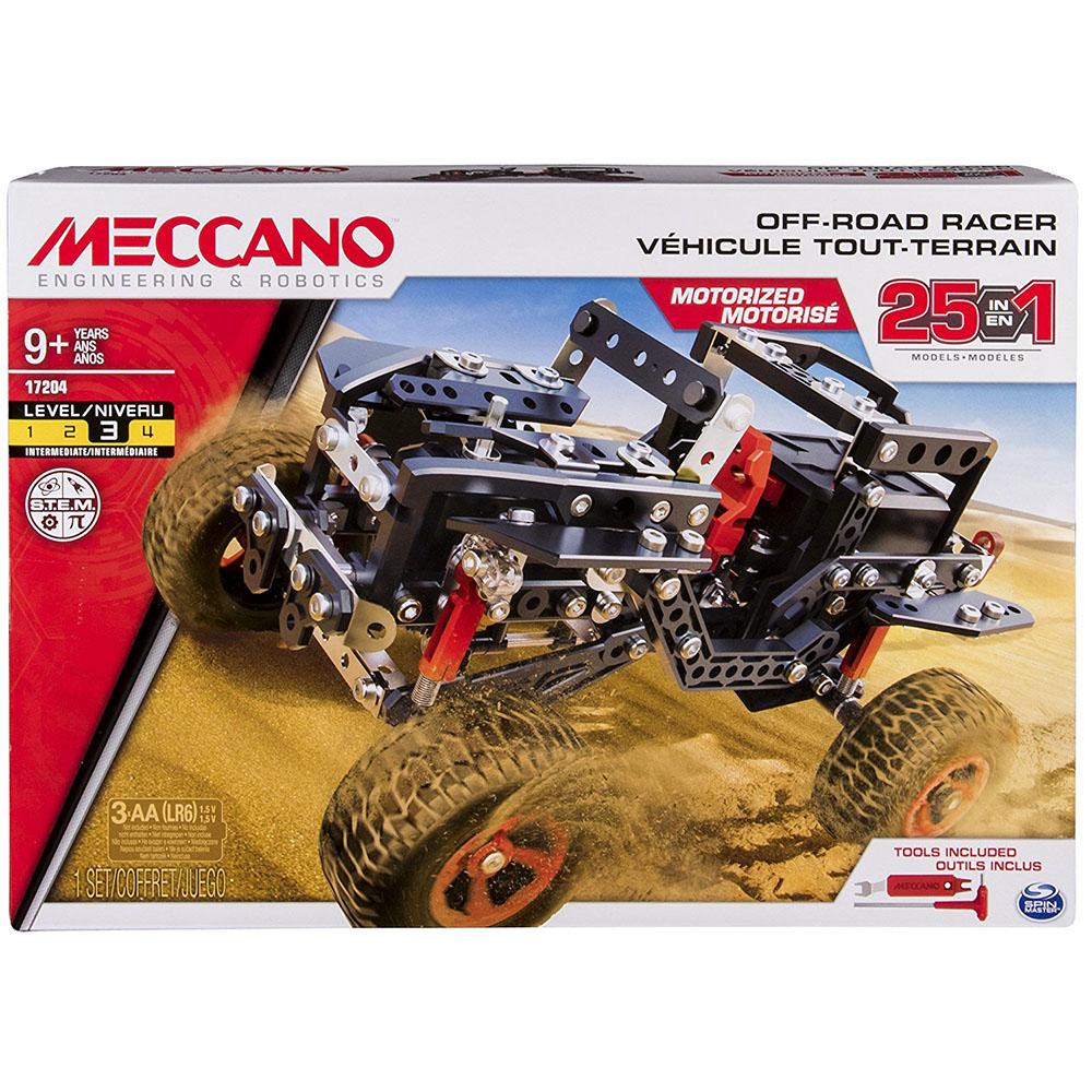 Meccano - Ensemble 25 modèles - Véhicules Off Road