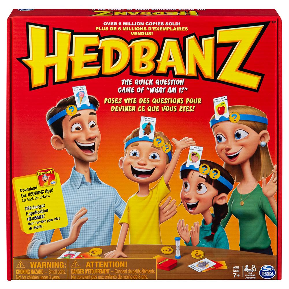 Jeu Hedbanz Famille