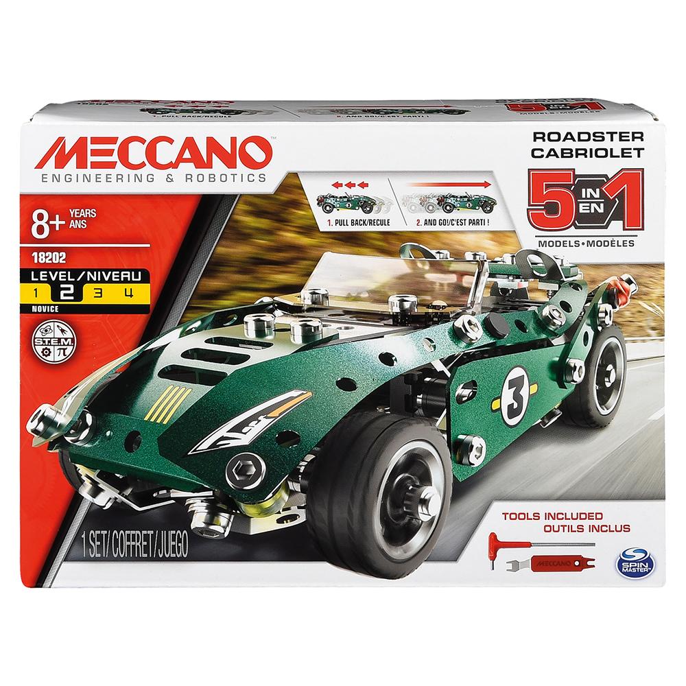 Meccano - Ensemble 5 modèles - Cabriolet