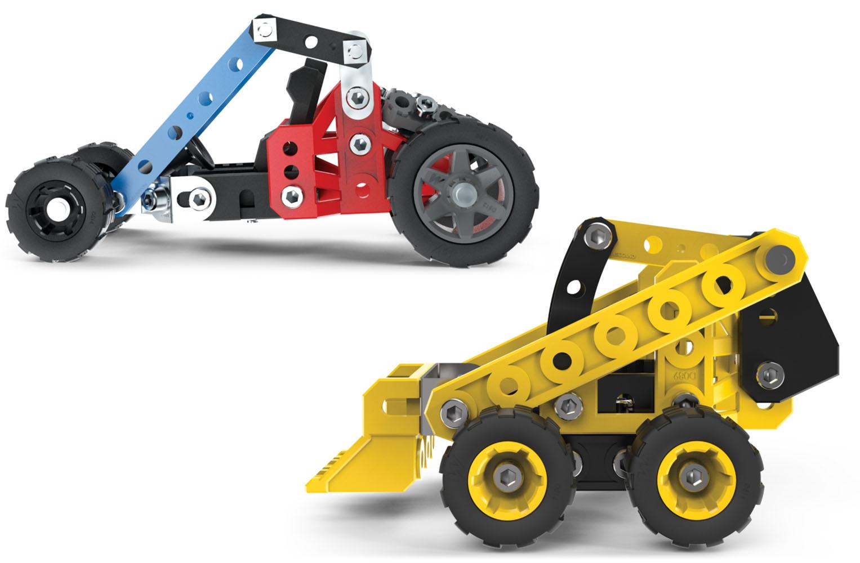 Meccano - Bulldozer ou Buggy de course