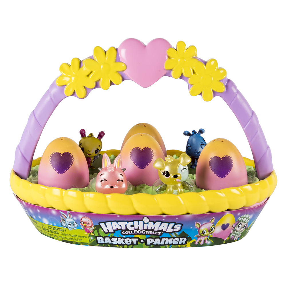 Hatchimals - Panier de printemps