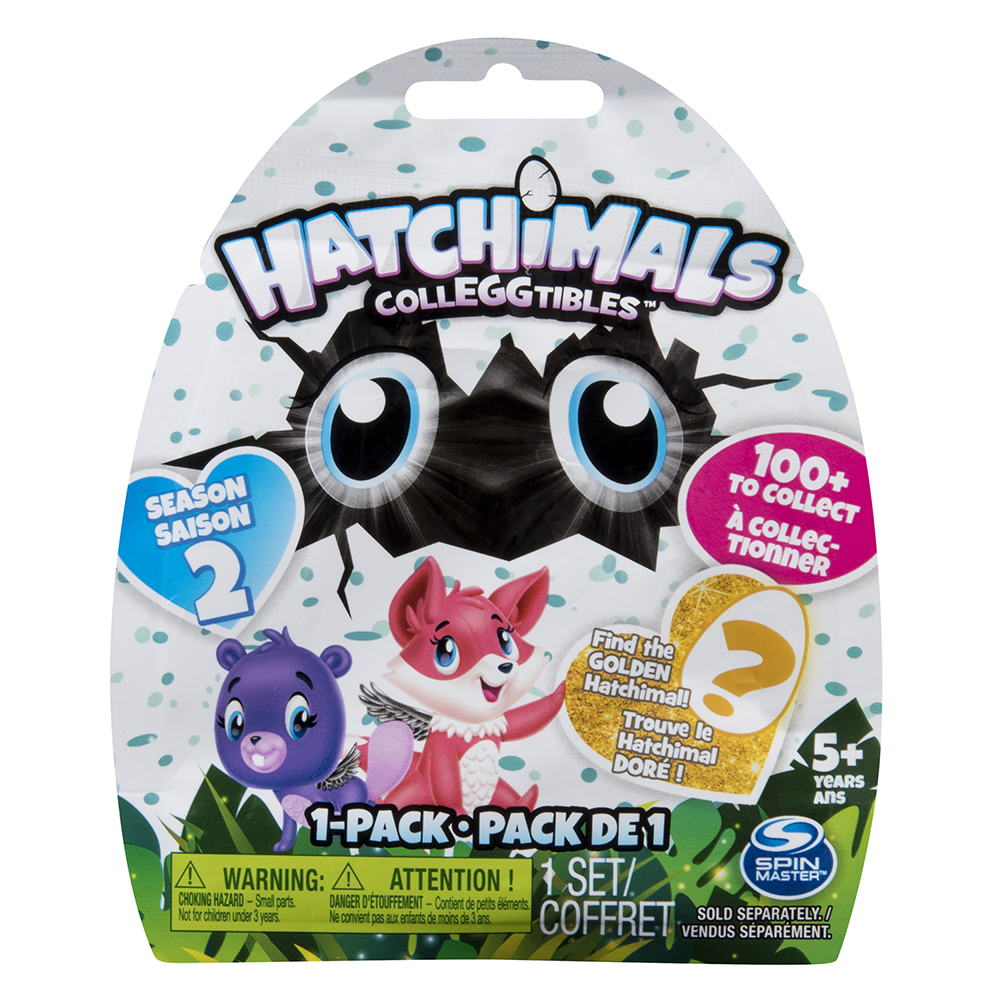 Hatchimals Colleggtibles pack de 1- série 2 assortis