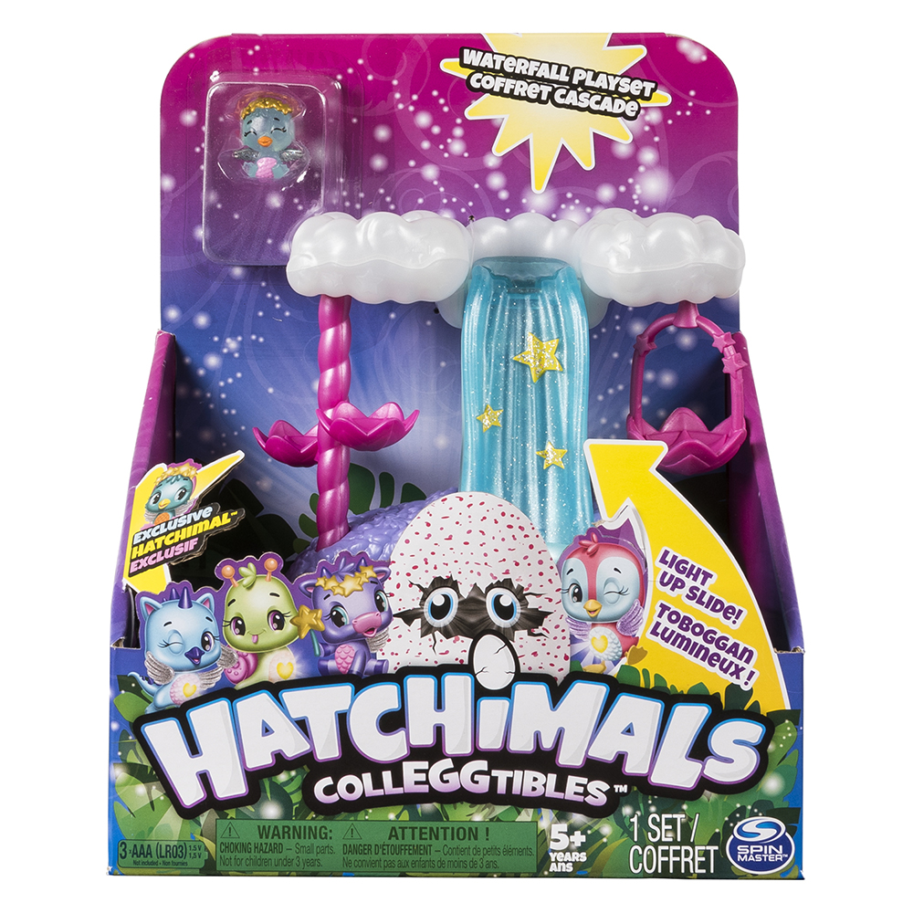 Hatchimals Colleggtibles Coffret cascade lumineux
