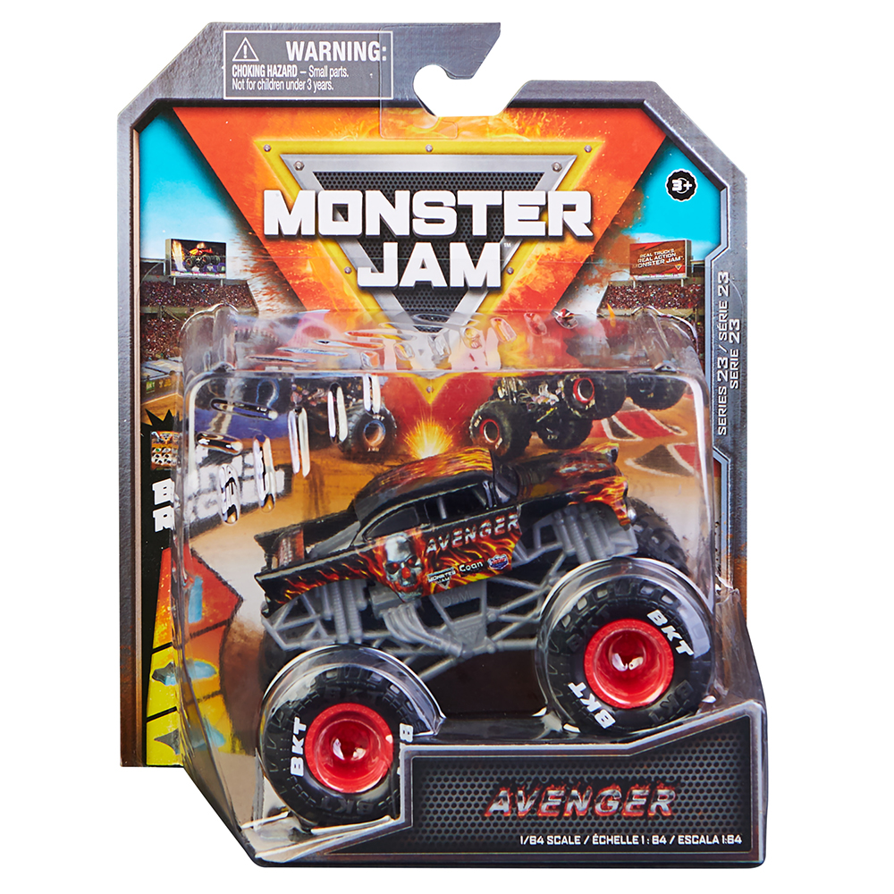 Monster Jam 1:64 Véhicule assortis