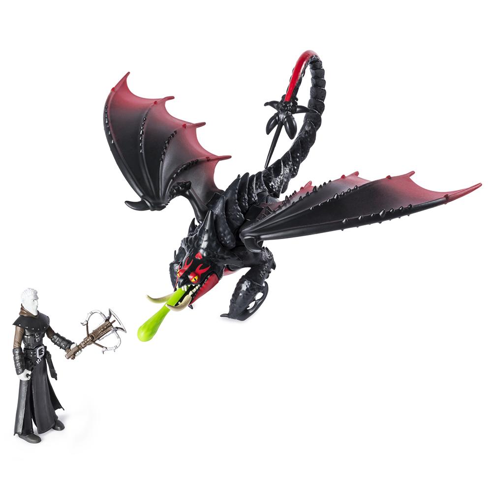 Dragons - Dragon et Viking assortis
