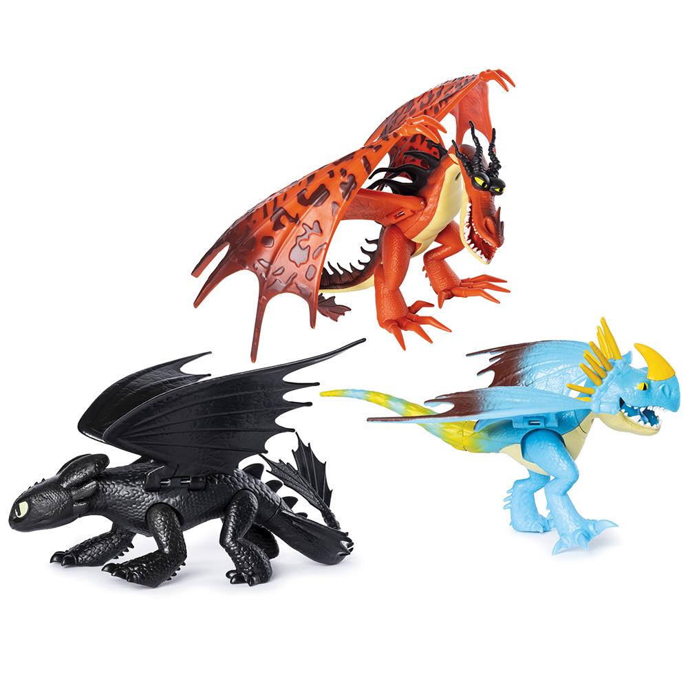 Dragons - Dragon articulé assortis