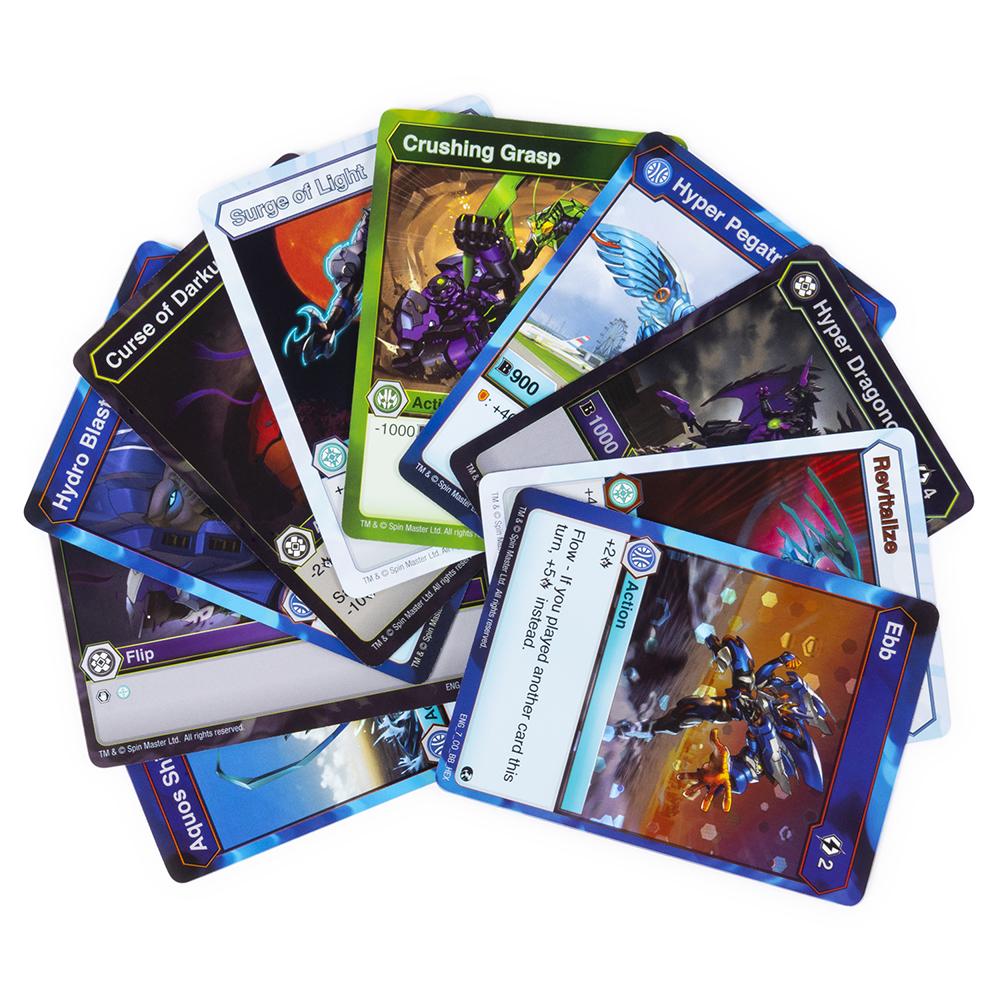 Bakugan - Ensemble de cartes booster de base assortis